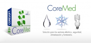 Software de Gestión de Instalaciones Eléctricas, Fontanería, Climatización y Seguridad: CoreMed
